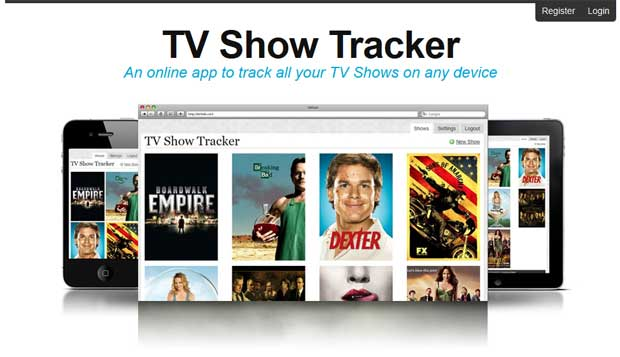 TV Show Tracker by Double Ace Design
